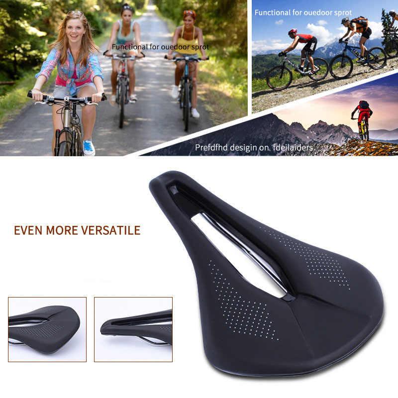 Ultra Light Bicycle Saddle MTB Road Bike Racing PU Breathable Soft Seat Cushion