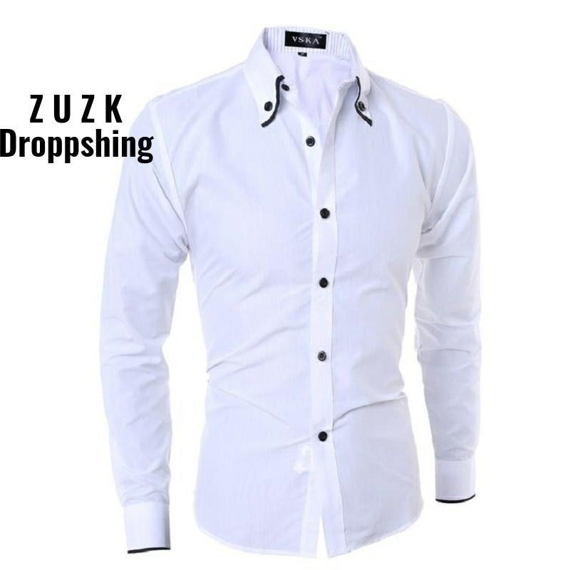 Men Solid Linen Blouse Shirts Long Sleeve Camisas Hombre Vestir Turn-down Collar