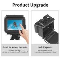 Снимать для использования на глубине до 45 м подводный Водонепроницаемый чехол для спортивной экшн-камеры Go Pro Hero 7 6 5 Black Label Дайвинг Pro tective кр... 4