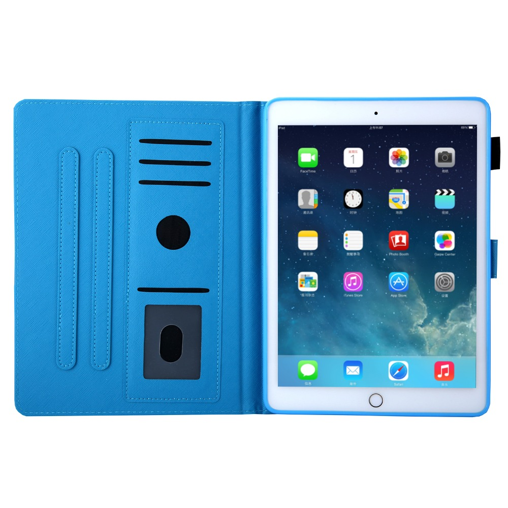 10.2 7th-Generation Magnetic-Stand Case PU New Tablet for Smart-Cover iPad Funda