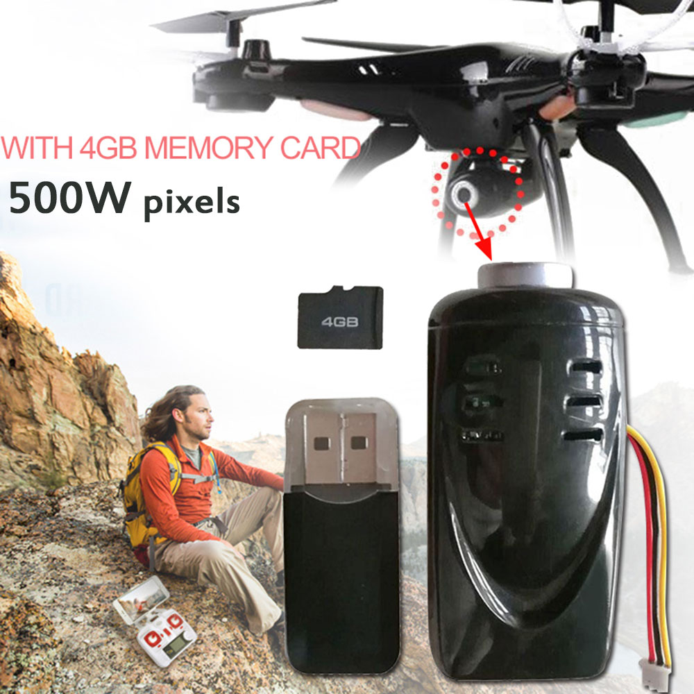 Cewaal Mini Drone Camera Durable Full HD 1080P High Performance Video Remote UAV Camera Or SYMA X5SC M68 FPV Camera Accessories