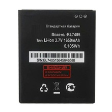 BL7405 1650mAh CellPhone Battery For Fly IQ449 Iq 449 BL 7405 BL-7405 Li-ion 3.7V Replacement Li-ion Batteries Batteria
