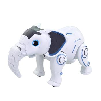 Programming Smart Elephant Large Simulation Animal Wireless Elephant Interactive Robot Early Childhood Education Toy Boy Girl