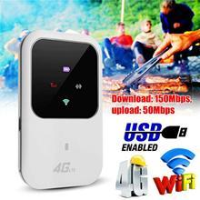Desbloqueado 4g-lte móvel de banda larga wi-fi roteador sem fio portátil mifi hotspot
