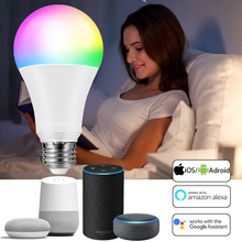 WiFi Smart Bulbs Siri Voice Control Alexa Google Assistant LED Smart Light Bulb equivalent Indoor Lighting Neon Changing Lamp cheap ZISIZ CN(Origin) ROHS LED Bulbs 270° Epistar 3-5㎡ 86-265V 2700K~6500K 27000 3years M-001 Globe Tube 0 28m 2835 1000 - 1999 Lumens