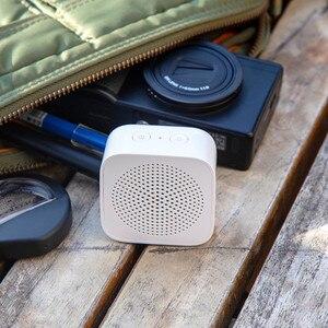 Image 5 - شاومي AI بلوتوث المتكلم بلوتوث لاسلكي صغير HD جودة المحمولة المتكلم العمود هيئة التصنيع العسكري الأيدي الحرة دعوة AI بلوتوث 5.0 صندوق الصوت