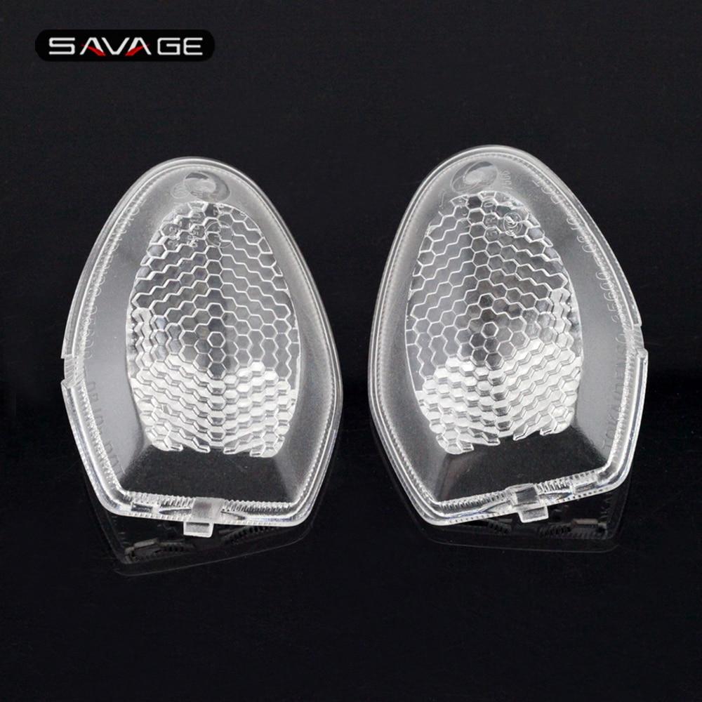 Turn signal light lens para suzuki dl 1000 650/xt/aventura v-strom gsf 1250 bandit sv650 dl650 motocicleta lâmpada indicadora habitação