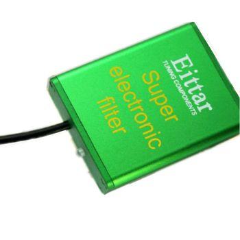 Samochód Super Electroic filtr samochód Pick Up oszczędzanie paliwa stabilizator napięcia zwiększa koń i moment obrotowy dla silnika benzynowego i diesla 12V 24V tanie i dobre opinie Częstotliwość-oddzielenie filtry EITTAR 12V or 24V DC