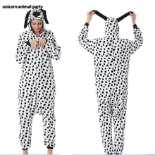 Kigurumi Onesies Cosplay Leopard cat dalmatians Sea lions  halloween Christmas Party Pyjamas costumes carnival costume hoodies
