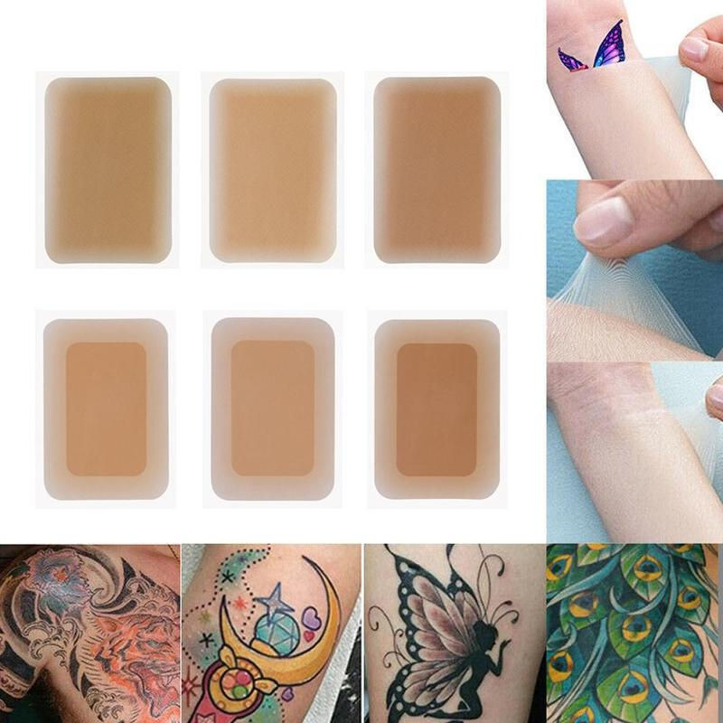 6 Colors Tattoo And Scar Super Invisible Tape Wholesale New Waterproof Cover Scar Avoid Awark Free Cutting Personality Display