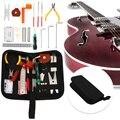 1 комплект гитары ремонт и обслуживание инструмент прочный Портативный полезный гитарный аксессуар гитары Настройка Ремонтный комплект За...