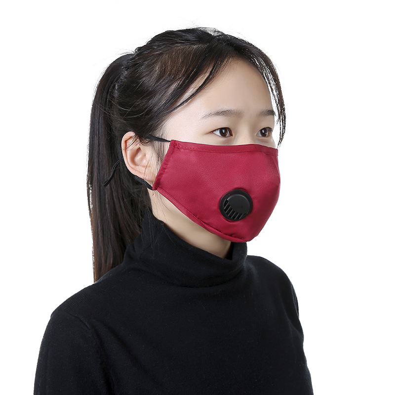 Reusable PM2.5 Activated Carbon Mask Anti Haze Anti Dust Smog Prevention Comfortable Breathable Washable Face Masks Health Care