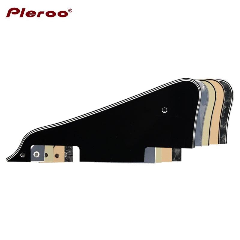 Pleroo Guitar Parts - For Free Shipping Les Paul Guitar Pickguard Scratch Plate,Multiple Colour