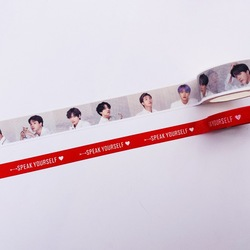 Бумажная лента BTS лента и бумажная лента MJD001-67 дневник лента для ноутбука ручная лента декоративная лента Канцтовары Васи