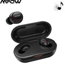 Mpow Professional Wireless TWS Earbuds APTX  5.0 Earphones 36H Playing 3D Stereo CVC8.0 Noise Cancelling Headphones With Mic