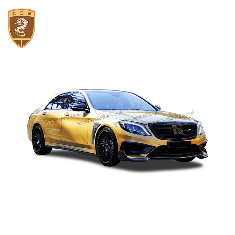 Tuning body kit for MercedesBenz <font><b>W222</b></font> <font><b>S</b></font> <font><b>Class</b></font> 2018 2019 retrofit body kit for <font><b>Mercedes</b></font> Benz <font><b>S</b></font> <font><b>CLASS</b></font> Prefacelift refit body kit image