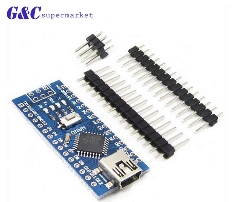 Programmierer der Nano V 3,0 ATmega168 / 328P / 5V 16M mikrocontroller für Arduino ATF, kompatibel mit Bootloader