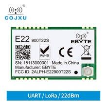 E22 900T22S SX1262 UART TCXO אלחוטי מודול 868MHz 915MHz משדר IoT SMD IPEX ממשק
