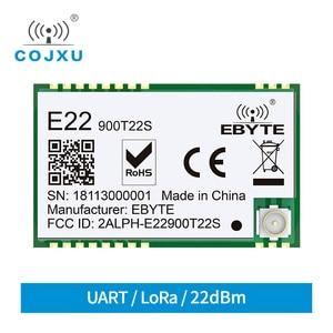 Image 1 - E22 900T22S SX1262 UART TCXO Draadloze Module 868MHz 915MHz Transceiver IoT SMD IPEX Interface