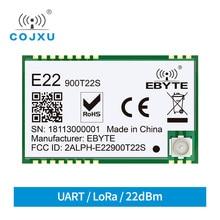 E22 900T22S SX1262 UART TCXO Modulo Senza Fili 868MHz 915MHz Ricetrasmettitore IoT SMD Interfaccia IPEX