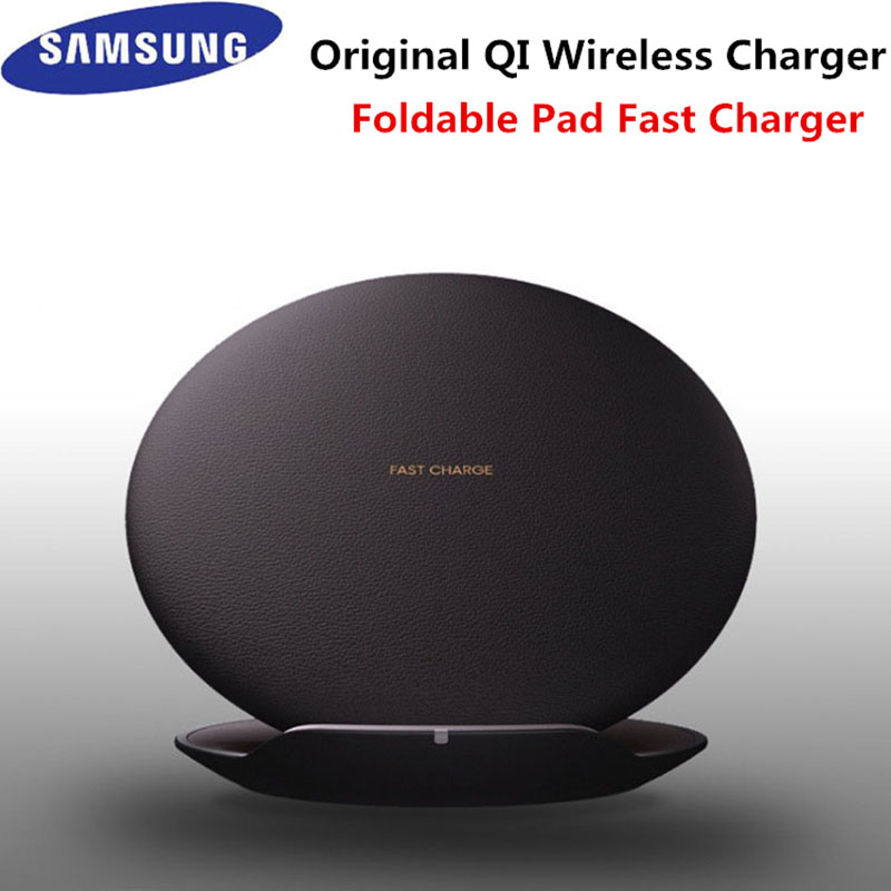 Original Samsung Qi Fast Wireless Charger quick charge adapter for s8 s9 s10 plus note 8 9 s10 plus iPhone 11 pro max X XR XS 8 image