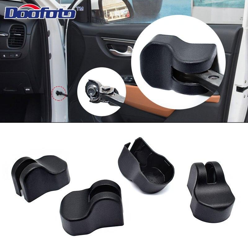 Doofoto 4x coche brazo puerta tapón limitador para Kia Rio 3 4 Ceed Sorento Cerato 2011, 2018 de 2019 accesorios de coche de estilo