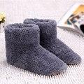 Теплые шлепанцы с подогревом через USB, толстые шлепанцы, тепловые шлепанцы, теплый уход за ногами, согревающие стельки для обуви, зимние грею...