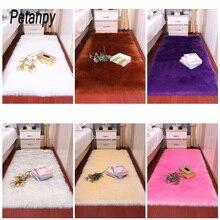 Room carpet Artificial Wool Living room/bedroom Rug Antiskid soft 80cm * 180 cm mat purpule white pink gray 15 color