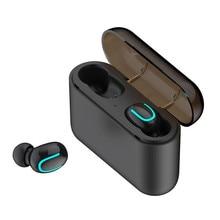 Bluetooth 5,0, наушники, TWS, мини, стелс, беспроводная, двойная связь, Спортивная гарнитура, 3D стерео наушники, гарнитура, наушники, спортивные