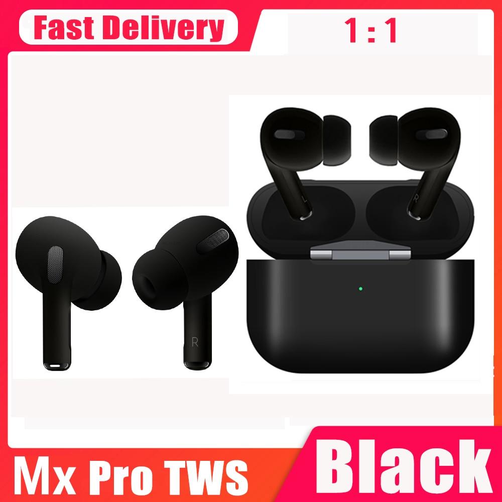 New Mx pro tws Bluetooth Earphone Wireless Headset 1:1 tws Air 3 Pro Smart Sensor Earbuds Pop Up 8D Hifi Stereo Head phone
