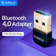 ORICO-adaptador Dongle USB Bluetooth 4,0, Mini receptor de Audio inalámbrico Bluetooth, transmisor para PC, ordenador, portátil, altavoz, ratón
