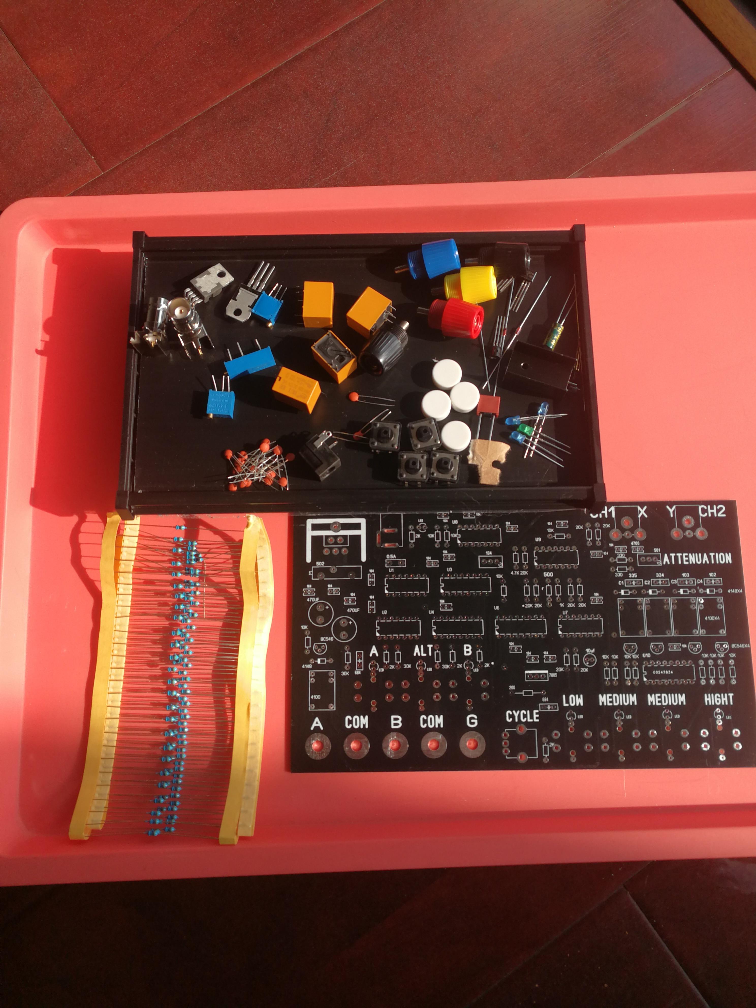 Dual-channel Circuit Board Repair Online Tester Kit, VI Curve Tester