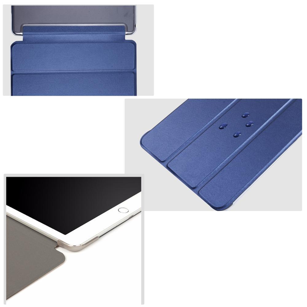 Чехол для планшета Huawei MediaPad T3 10, 9,6 дюйма, кожаный чехол с функцией смарт-сна, трехслойный чехол с подставкой, Твердый чехол для телефона, чехол для Huawei MediaPad T3 10/L09/L03-4