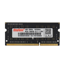 KingSpec ddr3 8GB 4GB 1600mhz sodimm so-dimm RAM Memoria Ram s для ноутбука ddr 3 1600MHz ram ddr3 4gb 8gb для ноутбуков