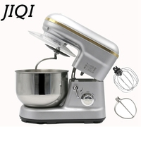 Stainless Steel Bowl 5 Liters Electric Stand Food Mixer Cream Blender Eggs Beater Bread Cake Knead Dough Chef Machine 110V 220V