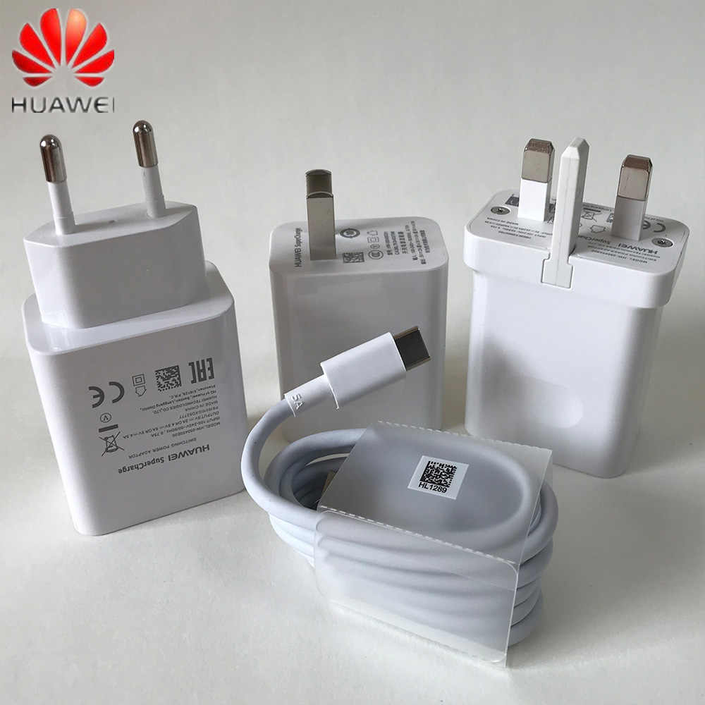HUAWEI Supercharge Super Charging Wall Charger Fast Charge Adapter สำหรับ Mate 20 9 10 pro P20 Pro P30 Honor 10 20 V20