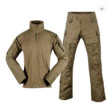 Tactical Sets Shirt + Pants Outdoor Paintball Airsoft CS Game Hiking Ghillie Suit Military Uniform Camouflage Hunting Clothes