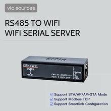 Elfin EW11 Elfin EW11 0 RS485 WiFi 모듈 스마트 홈 직렬 서버 Modbus TCP Homekit RJ45 TCP 프로토콜
