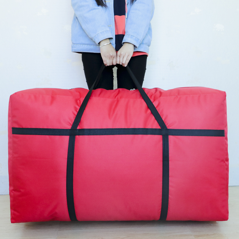 Oversized Oxford Cloth Wovenmoving Storage Bag Duffel Bag Extra Large Capacity Canvas Portable Package Artifact Bag 180L