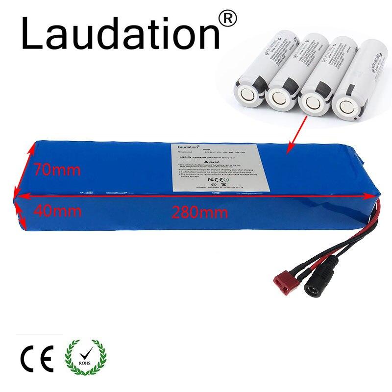 Batería eléctrica de la bicicleta de 36V 10ah DE LA lodation Paquete de batería de 36V 18650 500W de alta potencia y capacidad motocicleta Scooter con BMS - 2