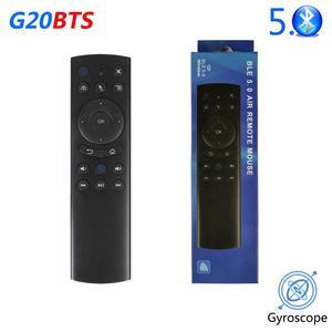 G20BTS Bluetooth Беспроводная воздушная мышь гироскоп умный пульт дистанционного управления для Xiaomi Smart TV Mibox Fire Stick Android TV Box vs G20S