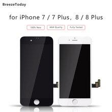 Tela de lcd para iphone 7 display para iphone 8 7 plus 8 mais tela lcd para iphone 8 display para iphone 7 substituição da tela