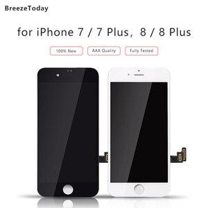 Image 1 - Tela de lcd para iphone 7 display para iphone 8 7 plus 8 mais tela lcd para iphone 8 display para iphone 7 substituição da tela