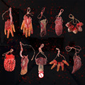 Вечерние украшения для Хэллоуина, страшный и страшный реквизит, поддельные руки, страшный пенис, глаза, ступня, член, член, сердце, украшение