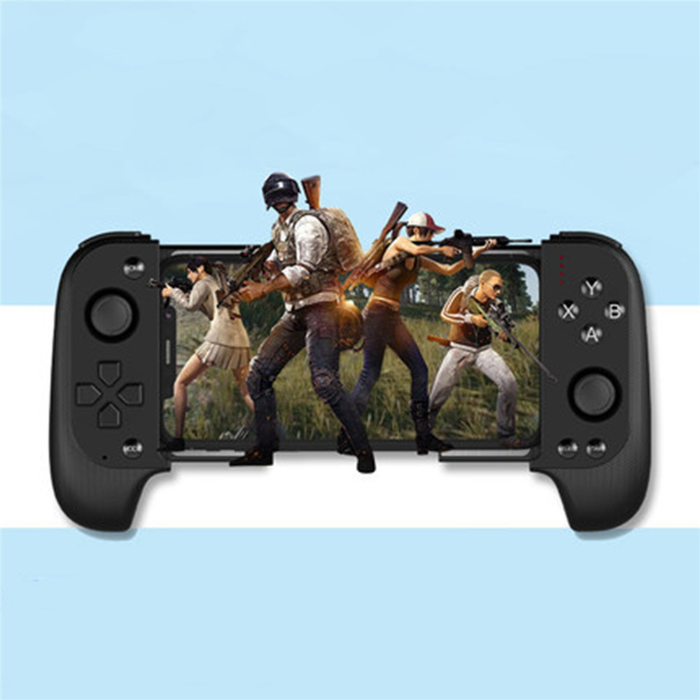 Bluetooth GamepadsSaitake 7007f Gamepad Battleground Bluetooth Game Retractable Gamepad IOS Direct Play For HUAWEI Android Phone