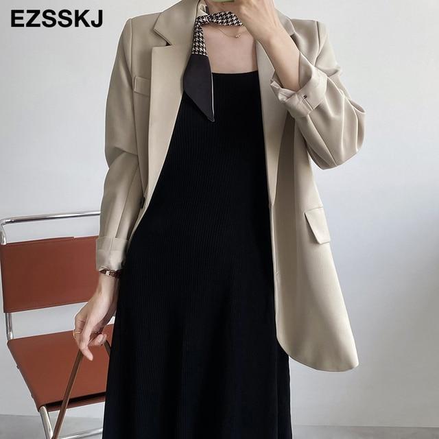 chic knit French V-neck A-line maix dress women female 2021 summer elegant  long dress robe dress 2