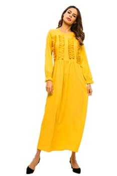 Green Abaya Kaftan Dubai Hijab Muslim Dress Islamic Clothing For Women Caftan Turkish Dresses Robe Femme Kleding Arabic Vestidos muslim women dress abaya short sleeved small dots pattern marron robe dubai caftan clothing