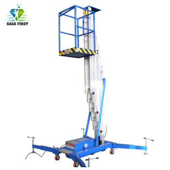 2018 Good Quality Factory Price Double Mast Aluminum Lift  Platform for Hot Sales factory price
