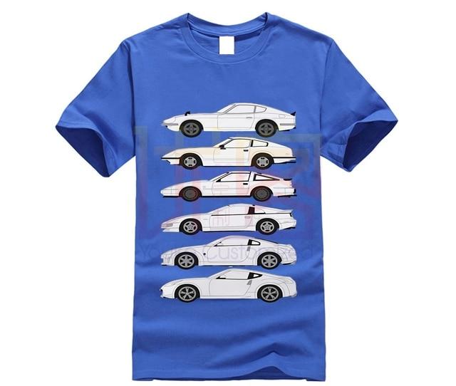 Jdm datsun 280z masculino puro algodão nissan corrida carro t camisa de manga curta tshirt designer homem engraçado camiseta dos desenhos animados