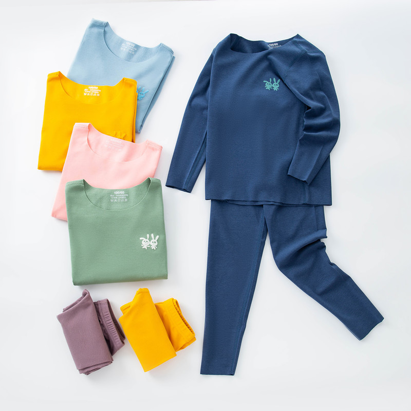 High technology Thermal Underwear Children clothing sets Seamless Underwear For Boys girls clothing Autumn winter Kids Clothes